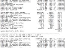 标准互联–vps主机性能网络测评