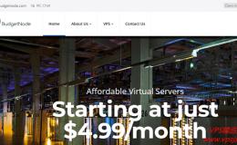 Budgetnode 介绍–提供OPENVZ/KVM/大盘鸡|内附优惠码和测评地址