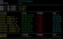Cloudcone购买使用体验,756M VPS主机性能网络测评报告