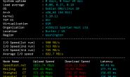Spartanhost|斯巴达VPS测评,西雅图VPS评测延时、路由、油管、带宽