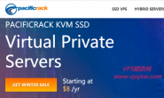 PacificRack推出8G内存/50G SSD/1Gbps/5T流量VPS,年付29.99美元