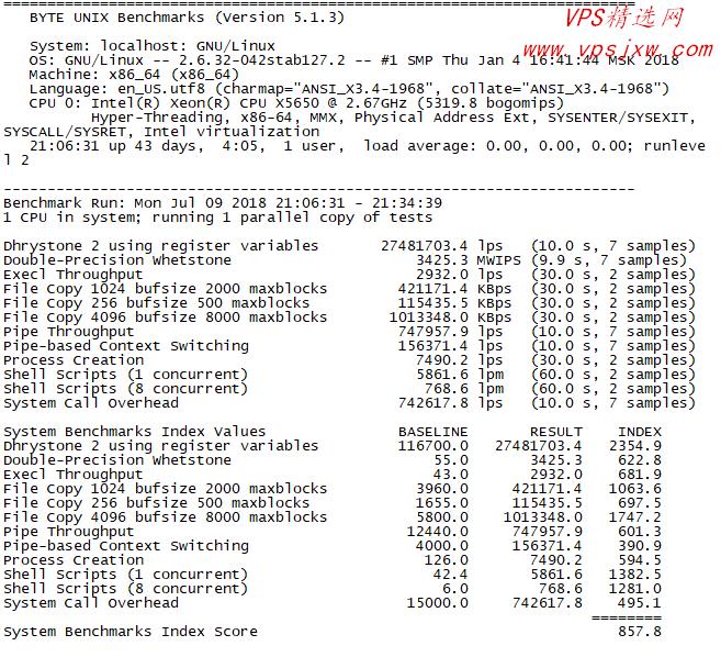 搬瓦工十大机房网络与主机性能测试报告