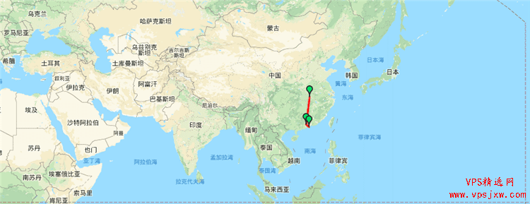 糖果主机 SugarHosts  香港/洛杉矶机房网速、带宽、延时测评