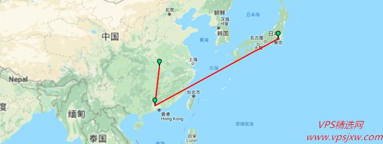 Vultr 日本/512M/1H vps 主机性能网络测评