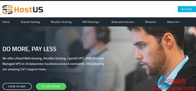 2019 hostus 最新优惠码,vps 全场通用,主机低至月付 2.25 美元
