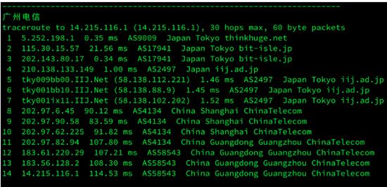 onevps 日本 vps 网络线路主机性能测评