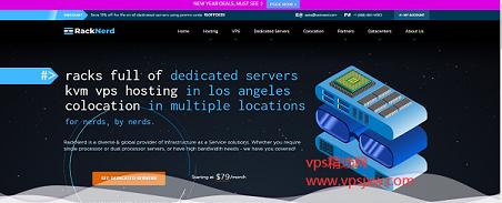 racknerd 大内存大流量 VPS 促销,低至年付 16.5 美元