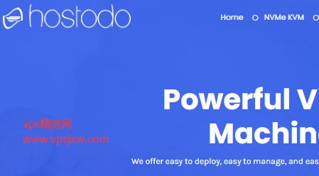 Hostodo 六月特惠:1.5G/25G NVME/8T 流量,仅$34.99/年,美国两大机房可选